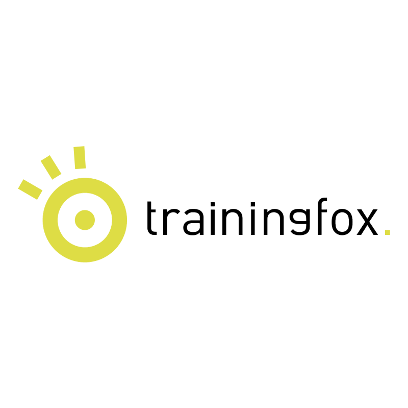 Trainingfox vector logo