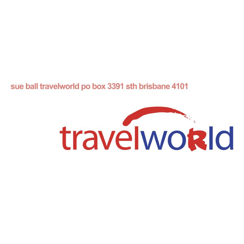 Travelworld vector logo
