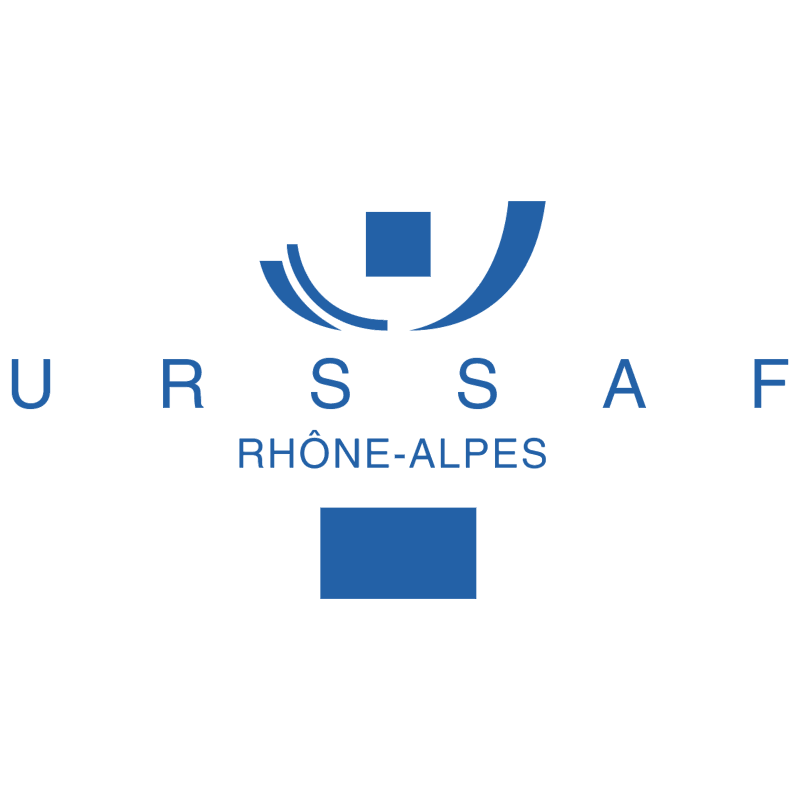 URSSAF Rhone Alpes vector
