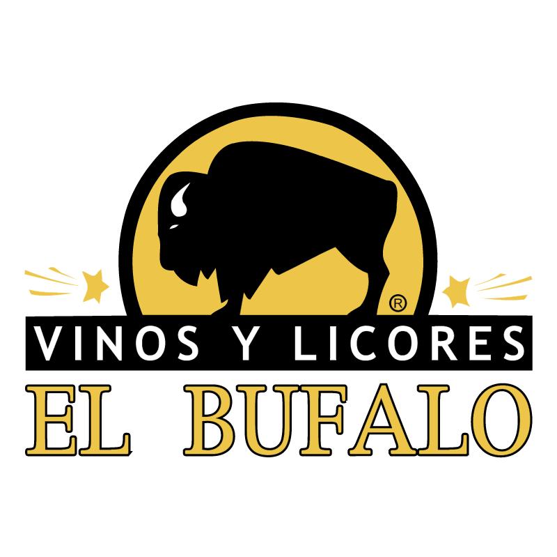 Vinos y Licores el Bufalo vector logo