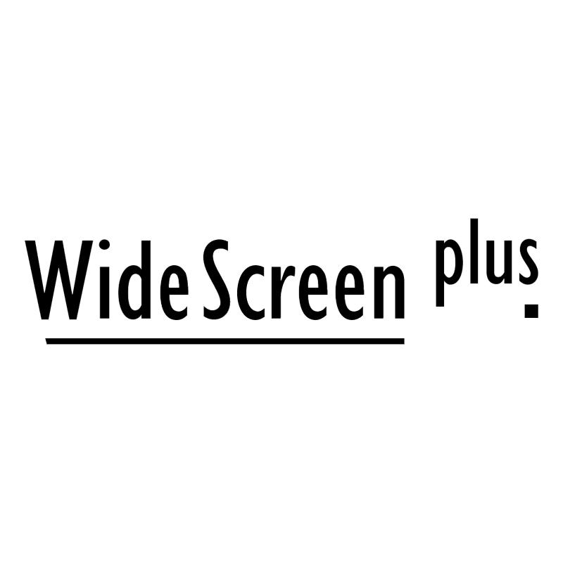 WideScreen plus vector logo
