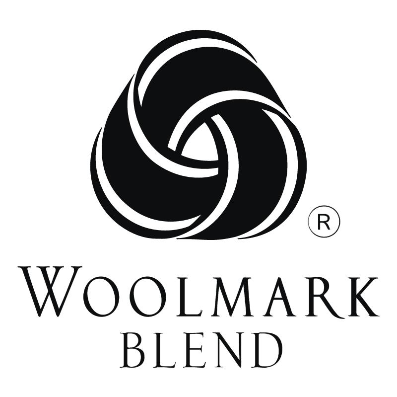 Woolmark Blend vector