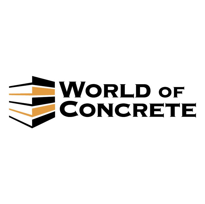 World Of Concrete vector