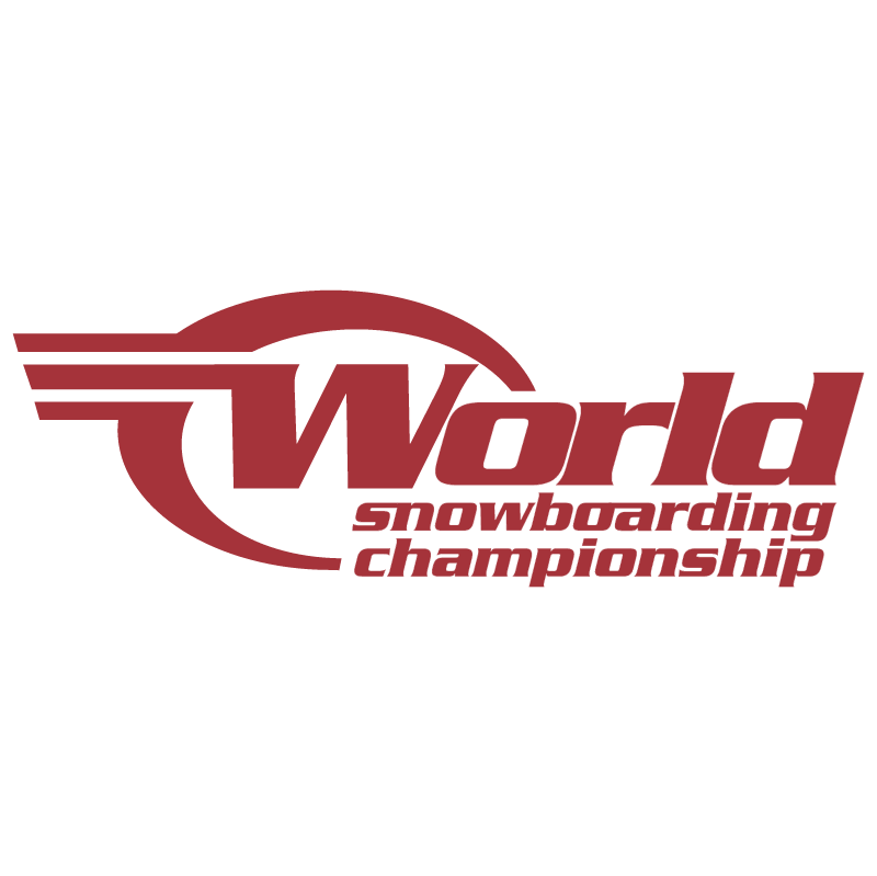 World Snowboarding Championship vector logo
