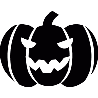 Pumpkin for Halloween vector