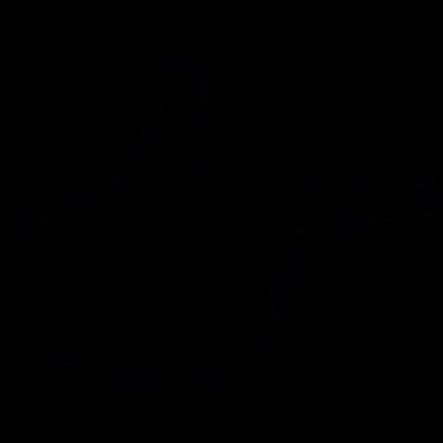Index finger, IOS 7 interface symbol vector logo