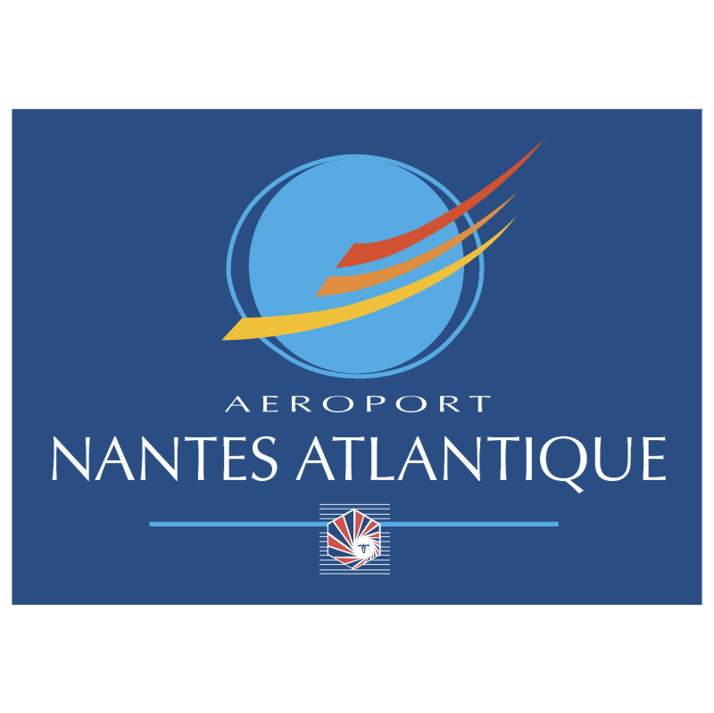 Aeroport Nantes Atlantique 69255 vector
