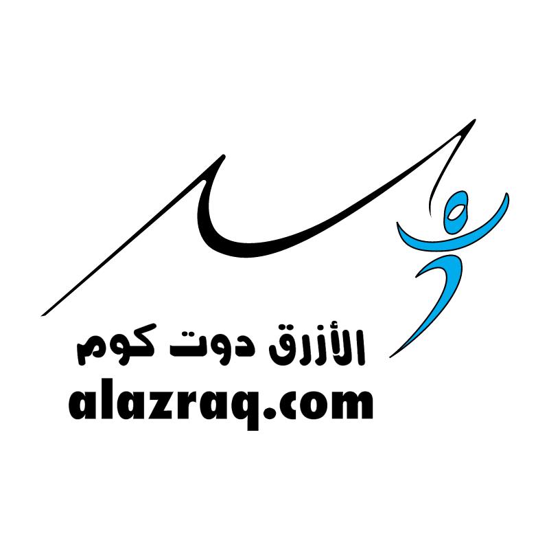 ALAZRAQ com vector