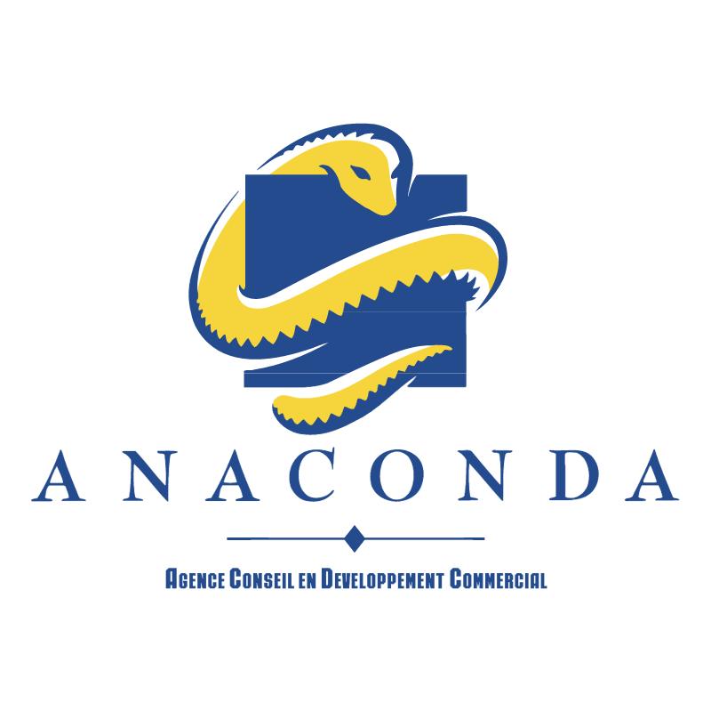 Anaconda vector