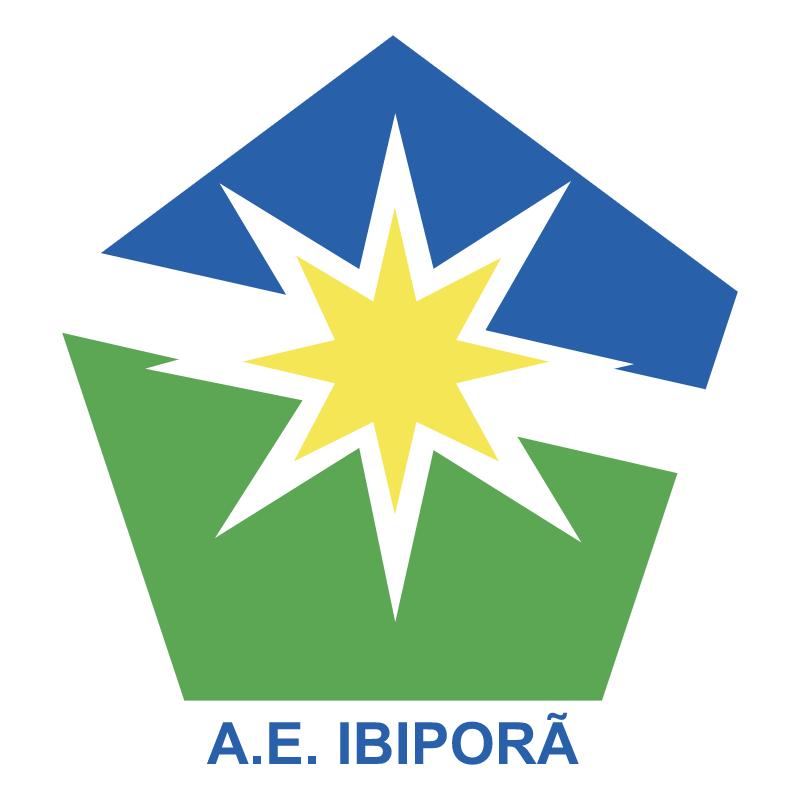 Associacao Esportiva Ibipora de Ibipora PR 78009 vector