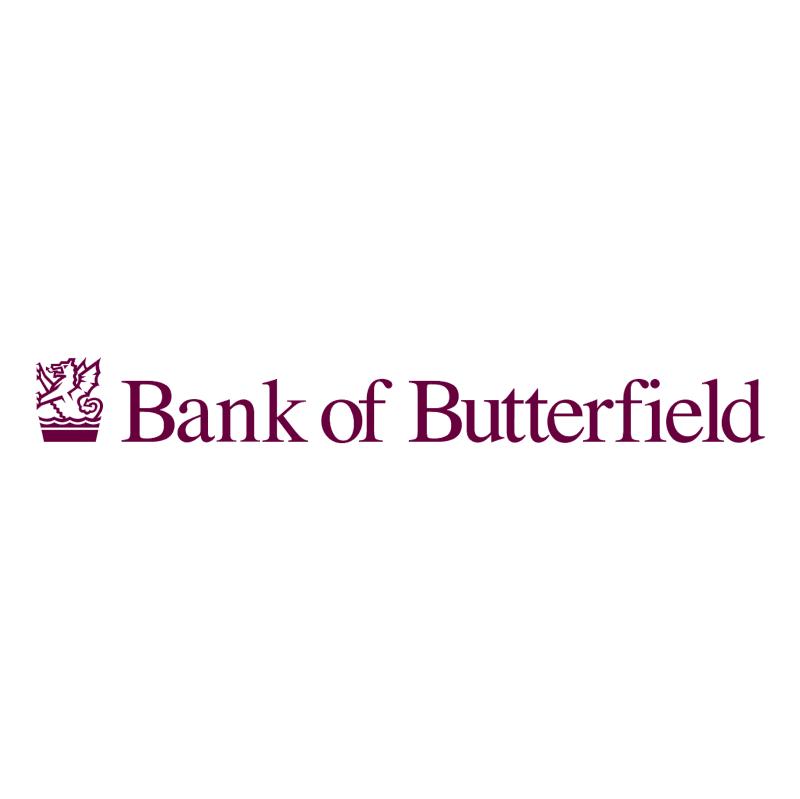 Bank of Butterfield vector logo