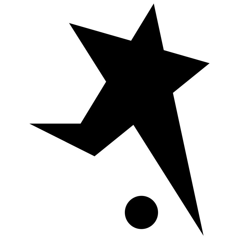Black Stars Basel vector