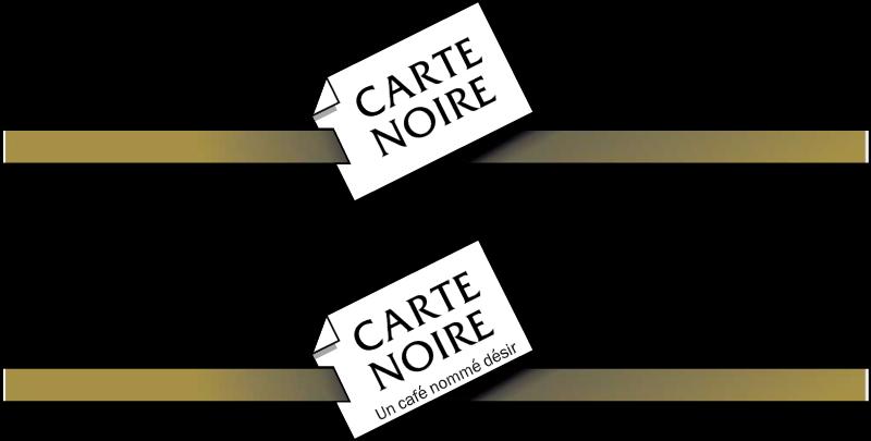 Carte Noire coffee vector logo