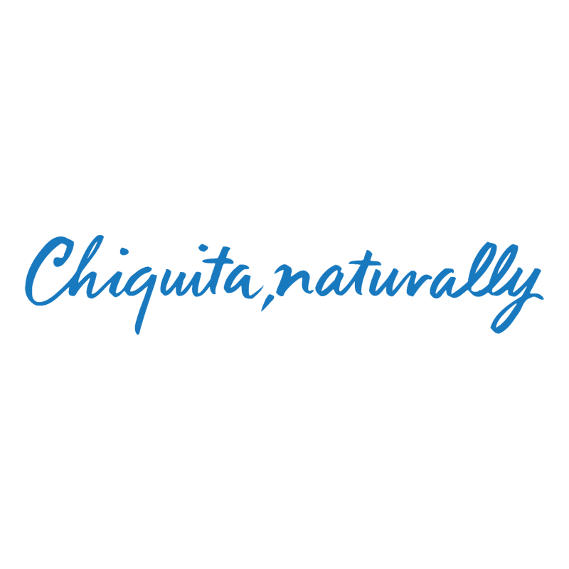 Chiquita Naturally vector