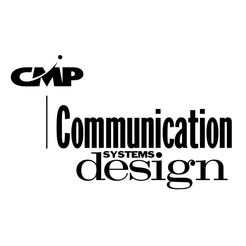 Communication Systems Design vector logo