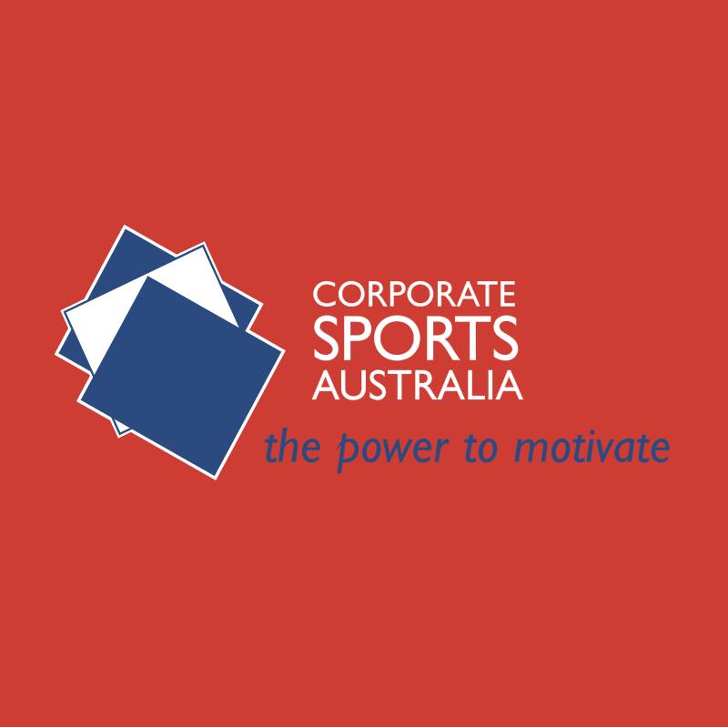 Corporate Sports Australia vector