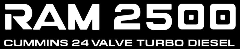 Dodge Ram 2500 vector logo