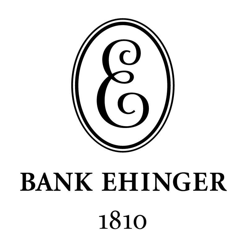 Ehinger Bank vector
