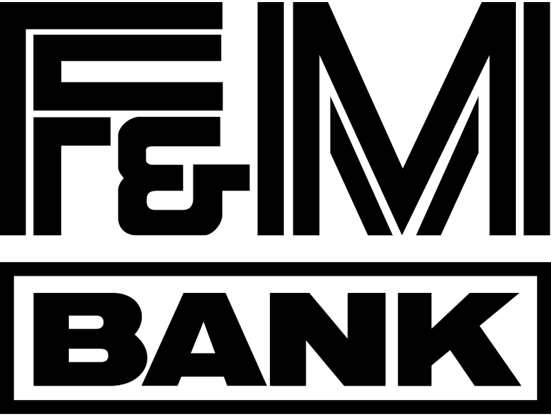 F & M Bank vector