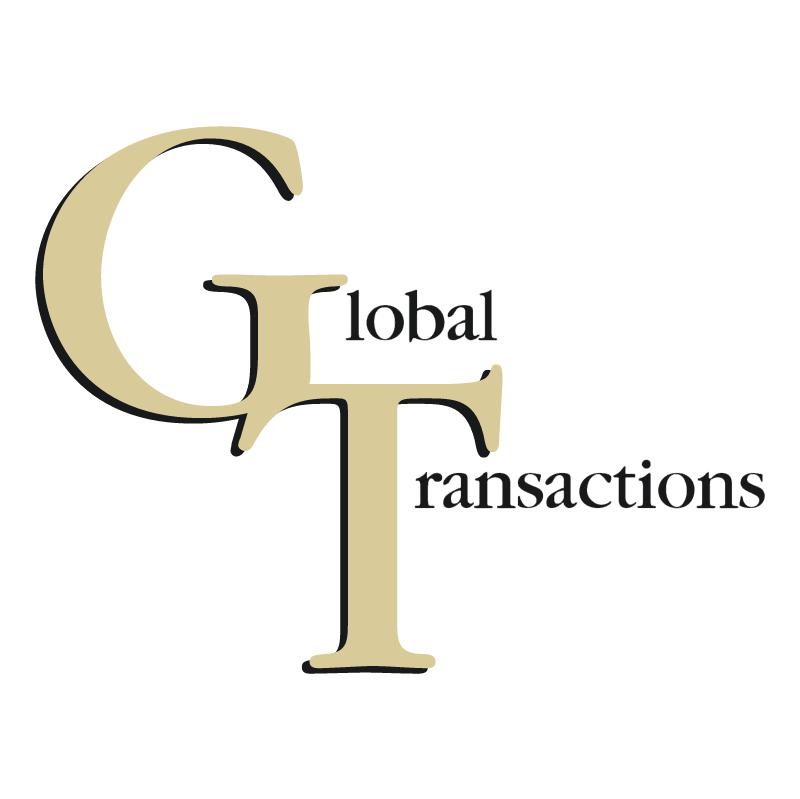 Global Transactions vector logo