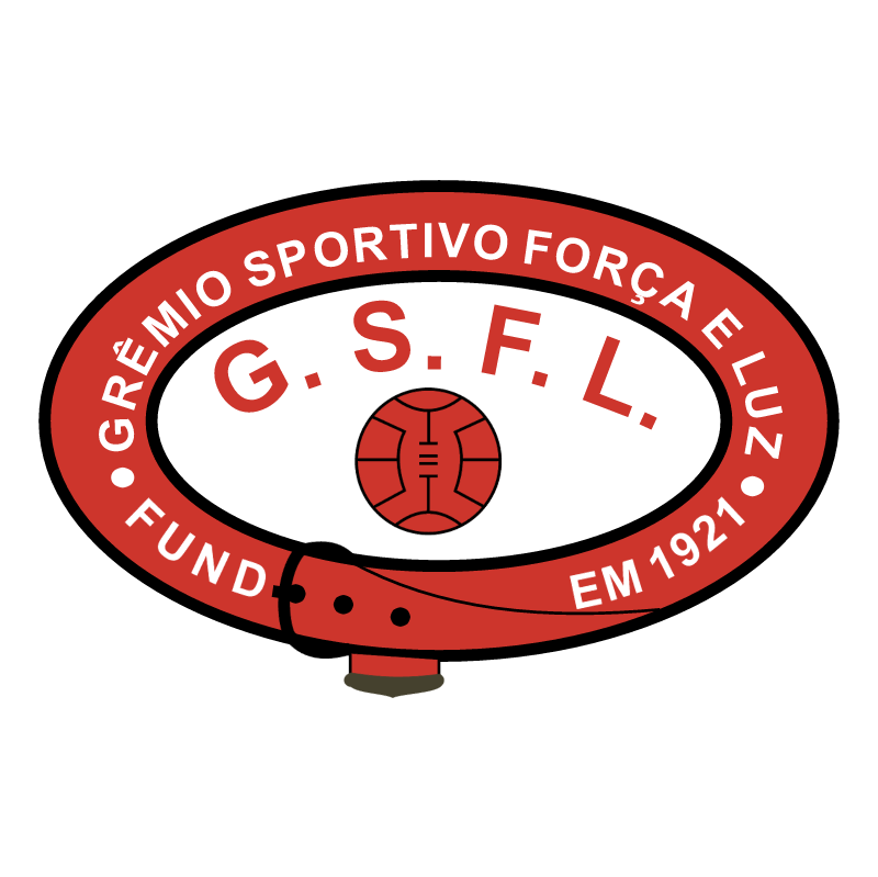Gremio Esportivo Forca e Luz de Porto Alegre RS vector