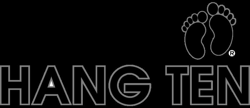Hang Ten vector