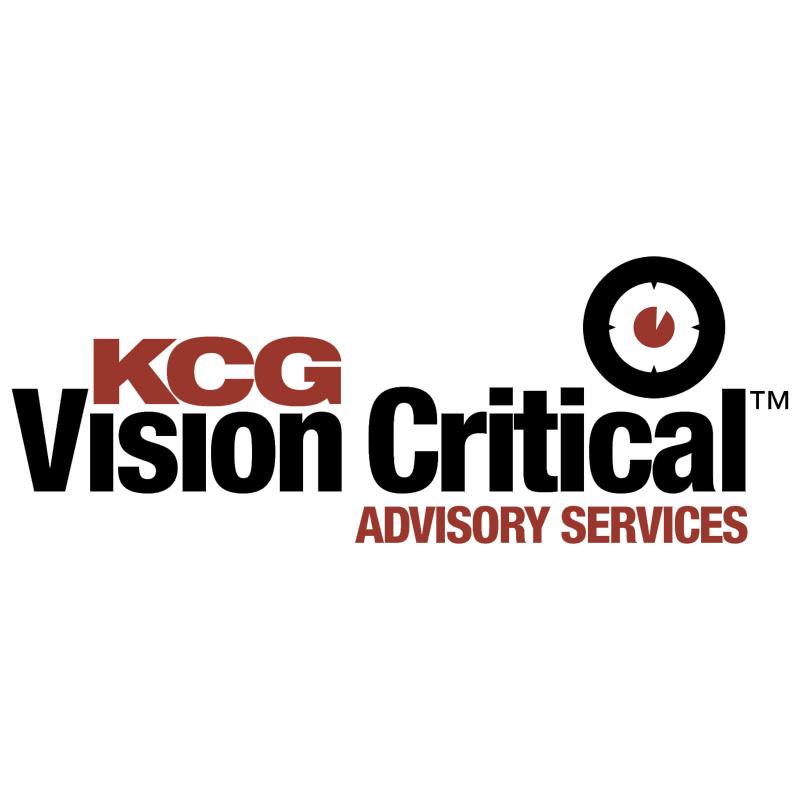 KCG Vision Critical vector