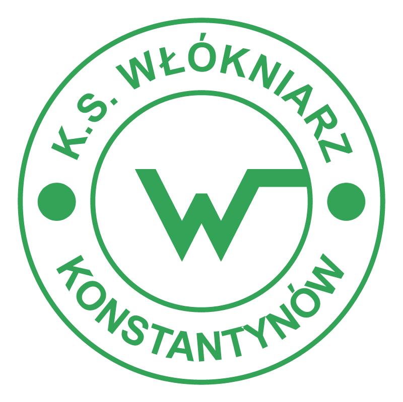 KS Wlokniarz Konstantynow Lodzki vector logo