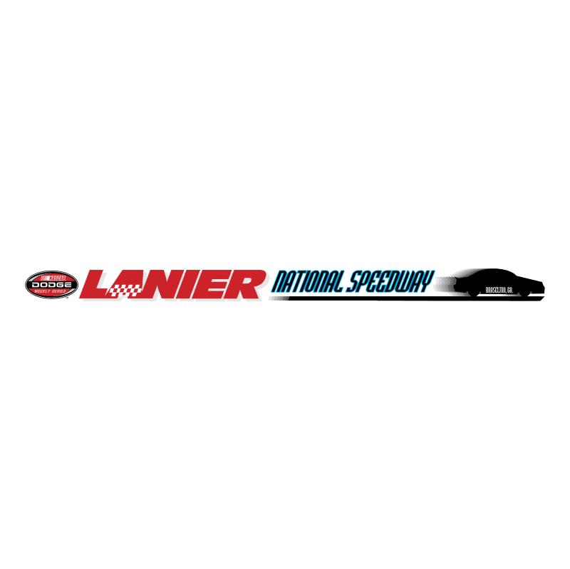 Lanier National Speedway vector