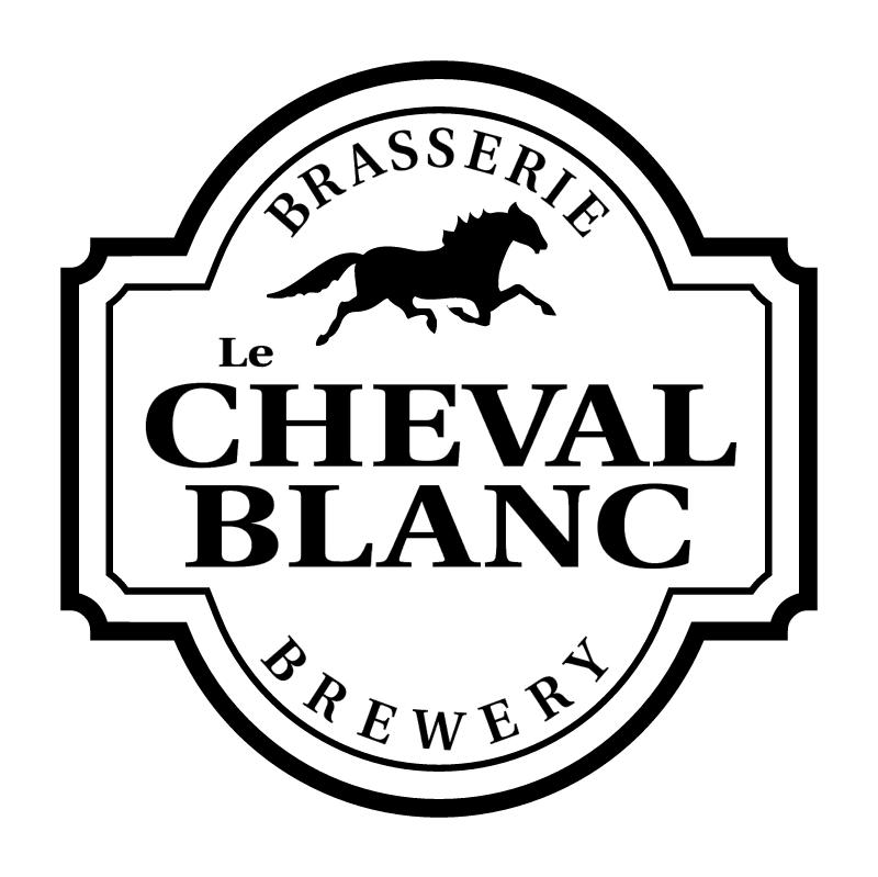 Le Cheval Blanc vector