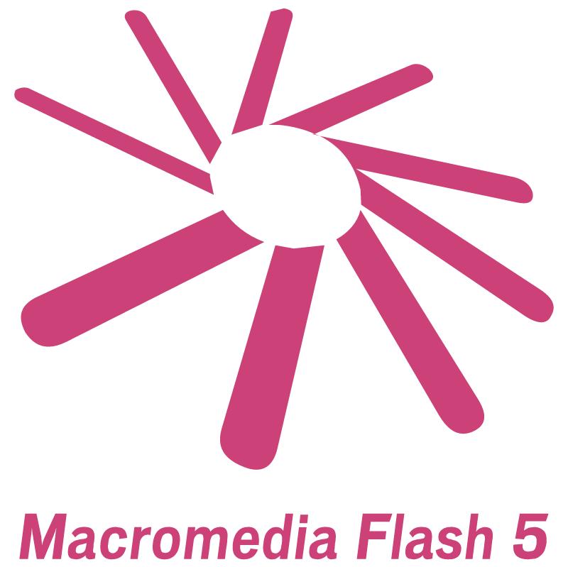 Macromedia Flash 5 vector logo