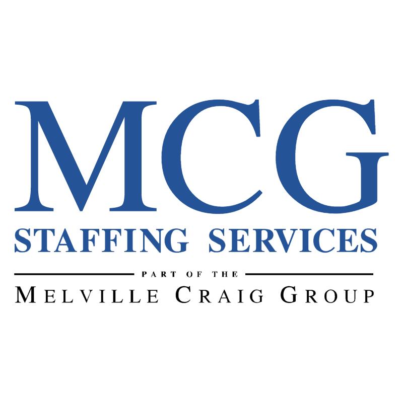 MCG Staffing Services vector logo