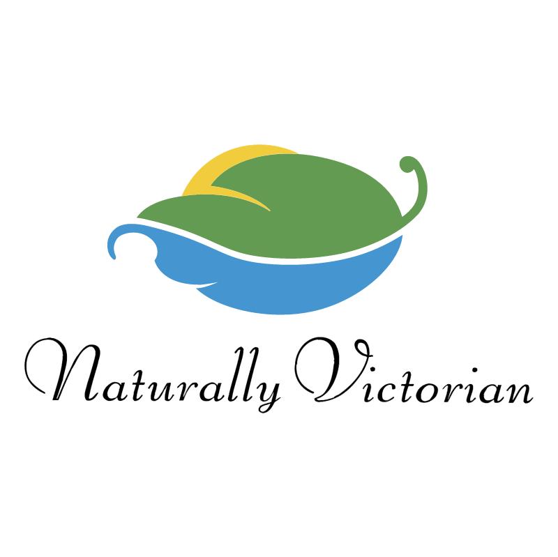 Naturally Victorian vector logo