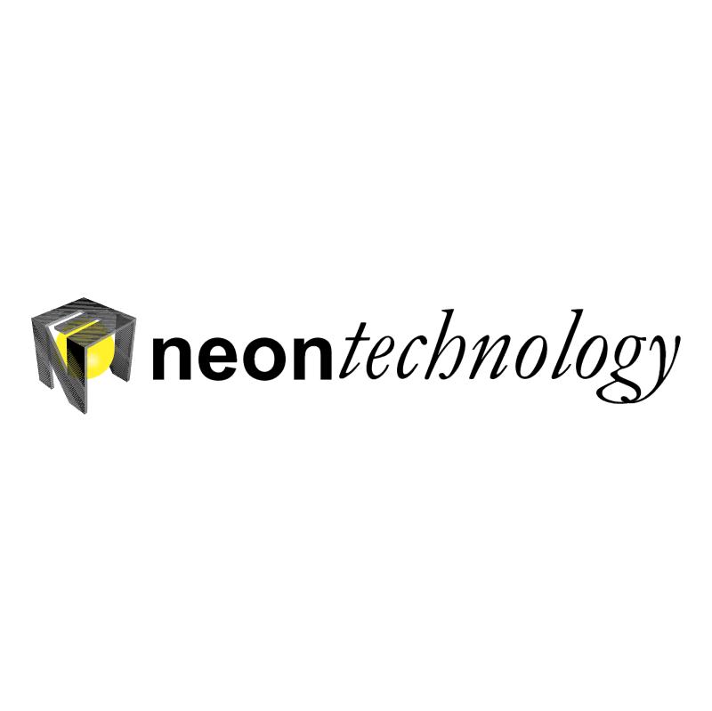 Neon Technology vector