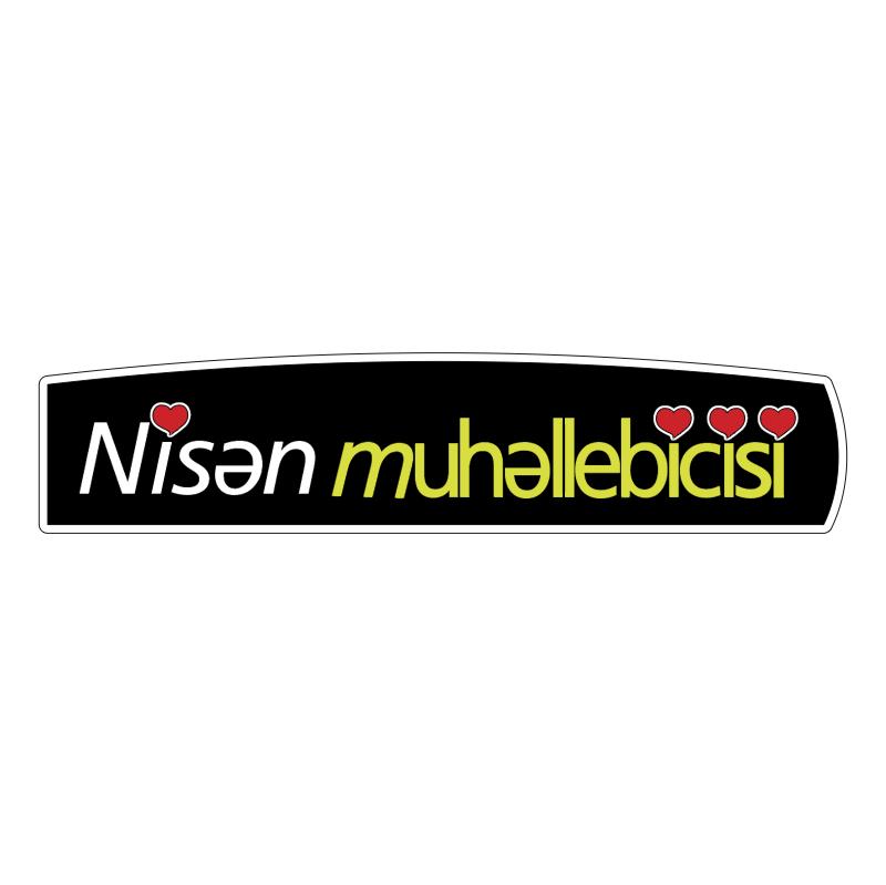 Nisan Muhallebicisi vector