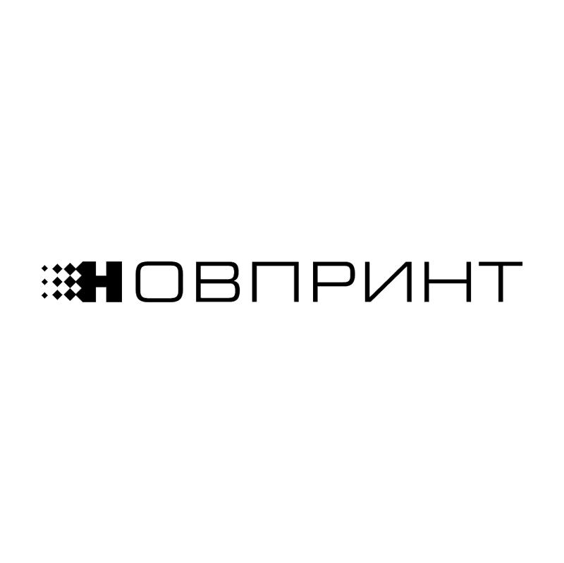 Novprint vector logo