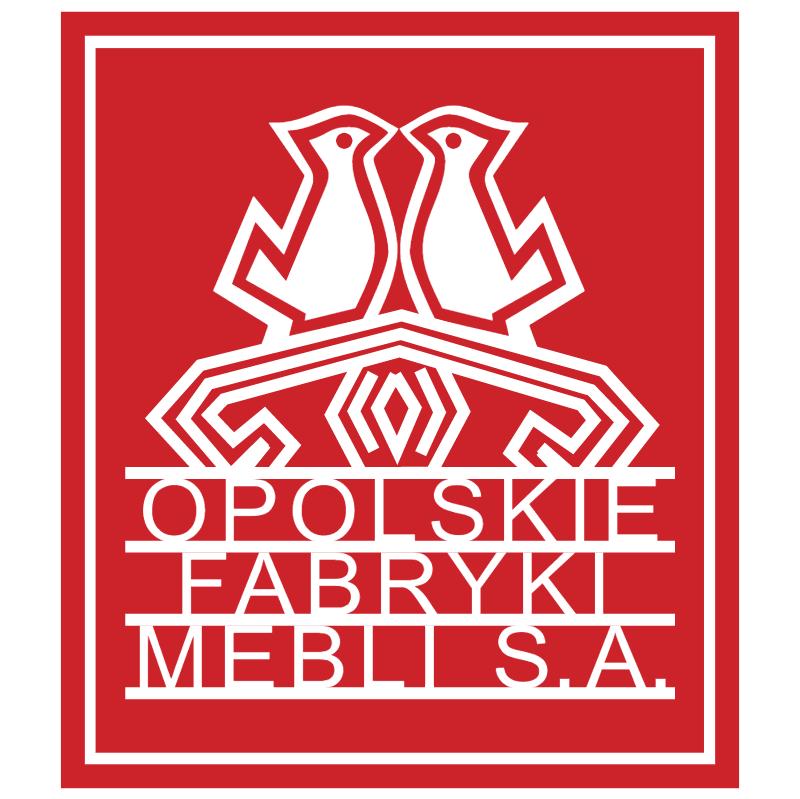 Opolskie Fabryki Mebli vector
