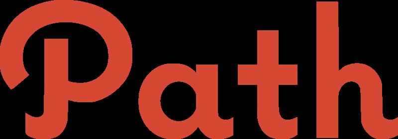 Path vector logo