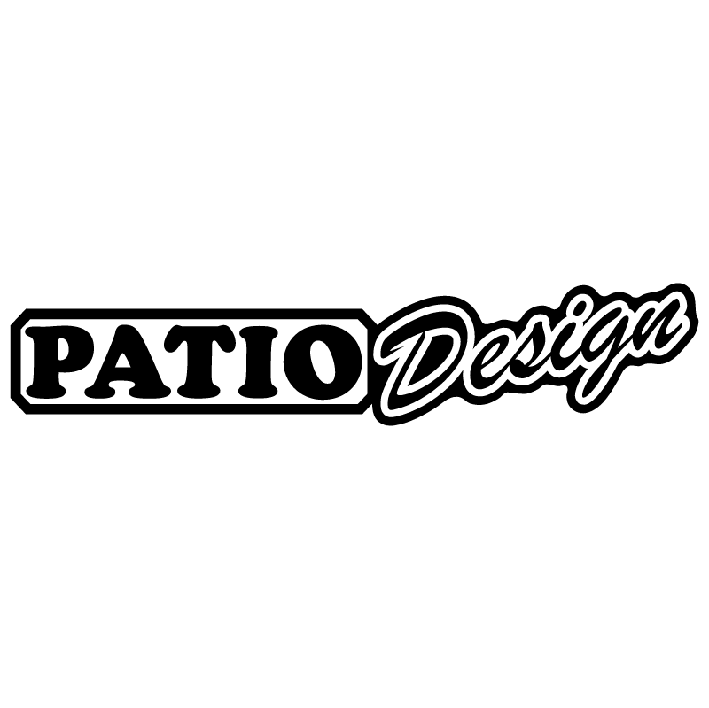 Patio Design vector