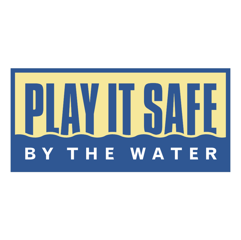 Play It Safe By The Water vector