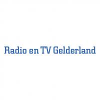 Radio en TV Gelderland vector