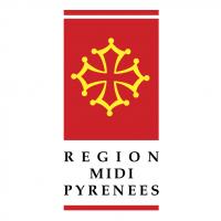 Region Midi Pyrenees vector