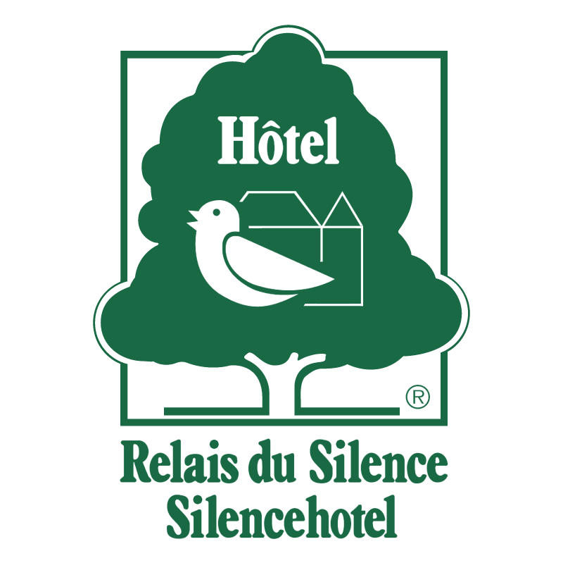 Relais du Silence Silencehotel vector