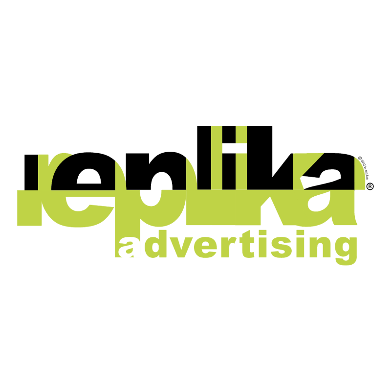 Replika Advertising vector