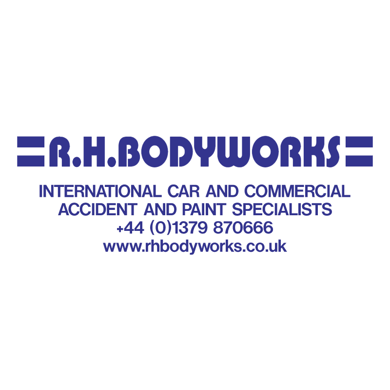 RH Bodyworks vector logo