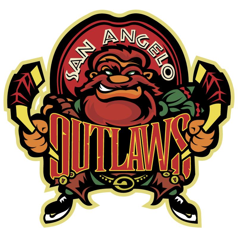 San Angelo Outlaws vector