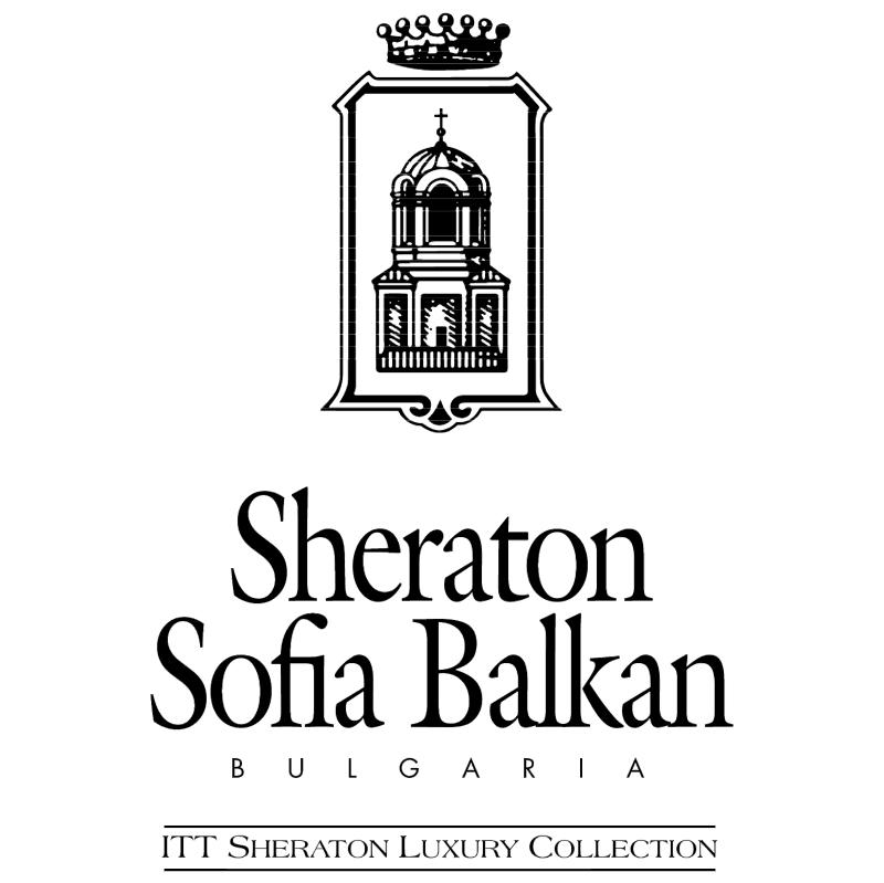 Sheraton Sofia Balkan vector