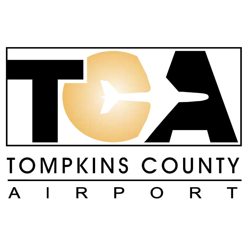 TCA Tompkins County Airport vector
