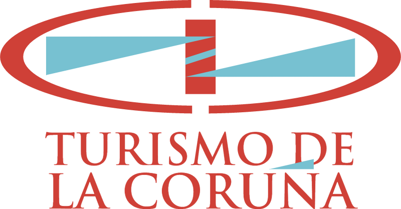 Turismo de La Coruna vector