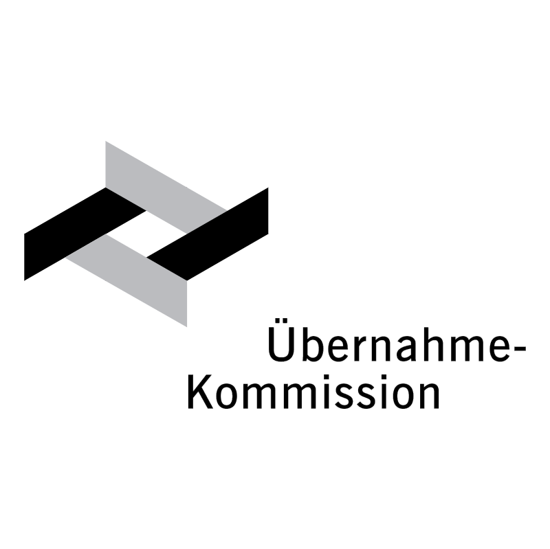 Ubernahme Kommission vector logo